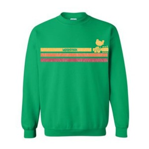 Sunshine Stripes Crew Neck Sweatshirt