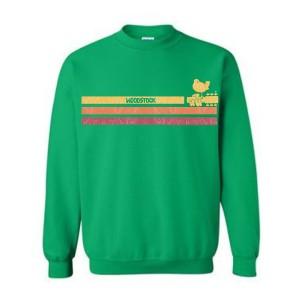 Sunshine Stripes Crew Neck Sweatshirt
