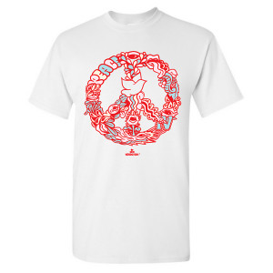 420 Peace Clock T-Shirt