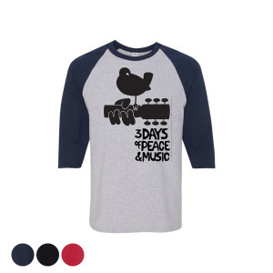 Three Days Of Peace & Music Raglan