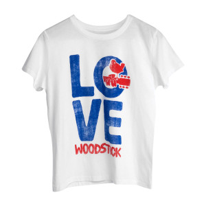 Woodstock LOVE Youth White T-shirt