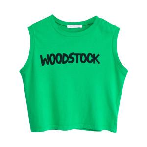 Woodstock Make Love Not War Tank Top