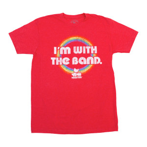 Woodstock I'm With The Band Red T-Shirt