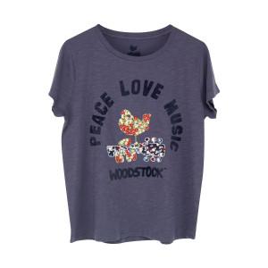 Embroidered Bird Logo T-shirt