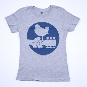 Girls Blue Circle Dove Logo T-Shirt