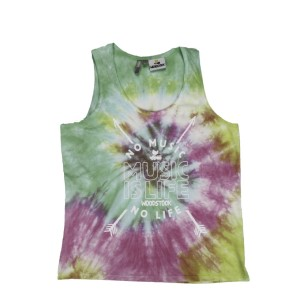 Women's Music Is Life Tie-Dye Tank