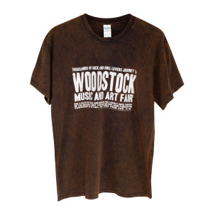 Banner Logo T-Shirt Vintage Brown