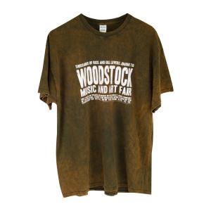 Banner Logo T-Shirt Vintage Olive