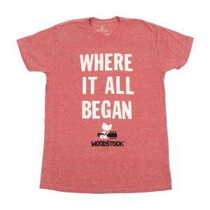 Woodstock Where It All Began T-shirt