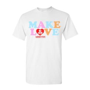 Make Love Heart T-Shirt