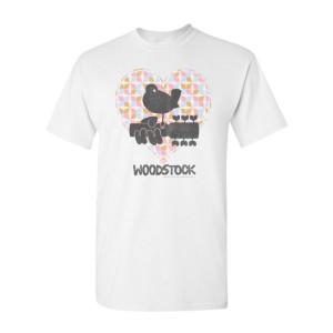Pastel Paisley Heart T-Shirt