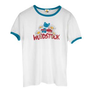Woodstock Daisy Ringer T-shirt