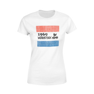 Red, White, And Blue Woodstock Shirt