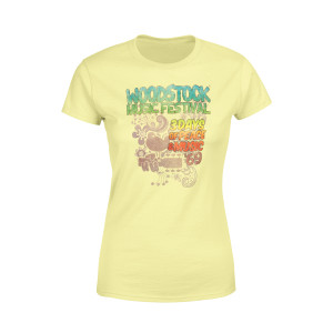 3 Days Of Peace And Music Ladies Shirt