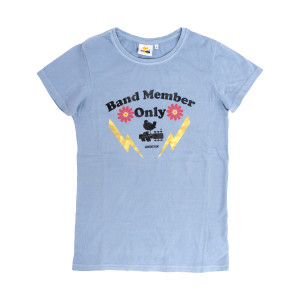 Woodstock Band Members Only Blue T-shirt