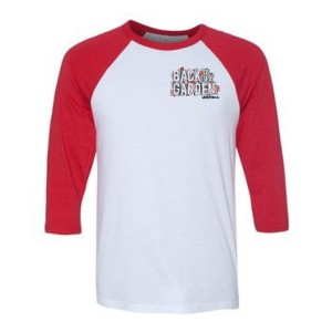 Small Logo Back To The Garden Raglan