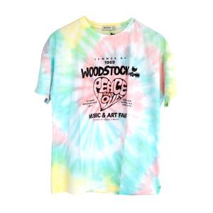 Tie Dye Poster T-shirt