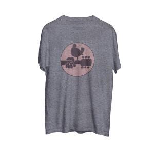Woodstock Logo Grey T-shirt
