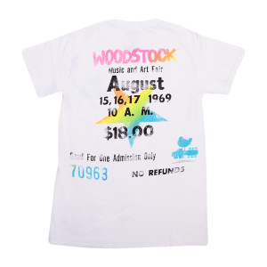 Woodstock Ticket Back T-shirt