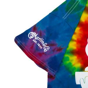 Woodstock Dove on Guitar Logo Tie Dye T-shirt