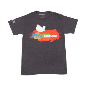 Charcoal Woodstock T-shirt