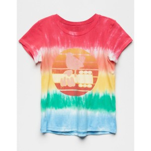 Woodstock Tie Dye Girls Tee