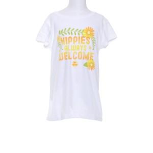 Girls Hippies Always Welcome T-Shirt
