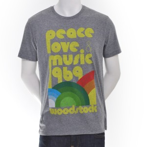 Peace, Love, Music '69 T-Shirt