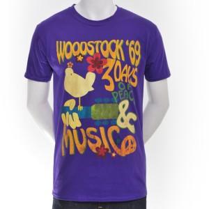 Purple Psychedlic Cymbal T-Shirt