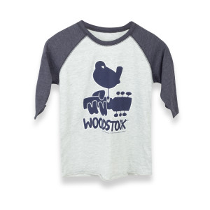 Woodstock Blue Youth Raglan