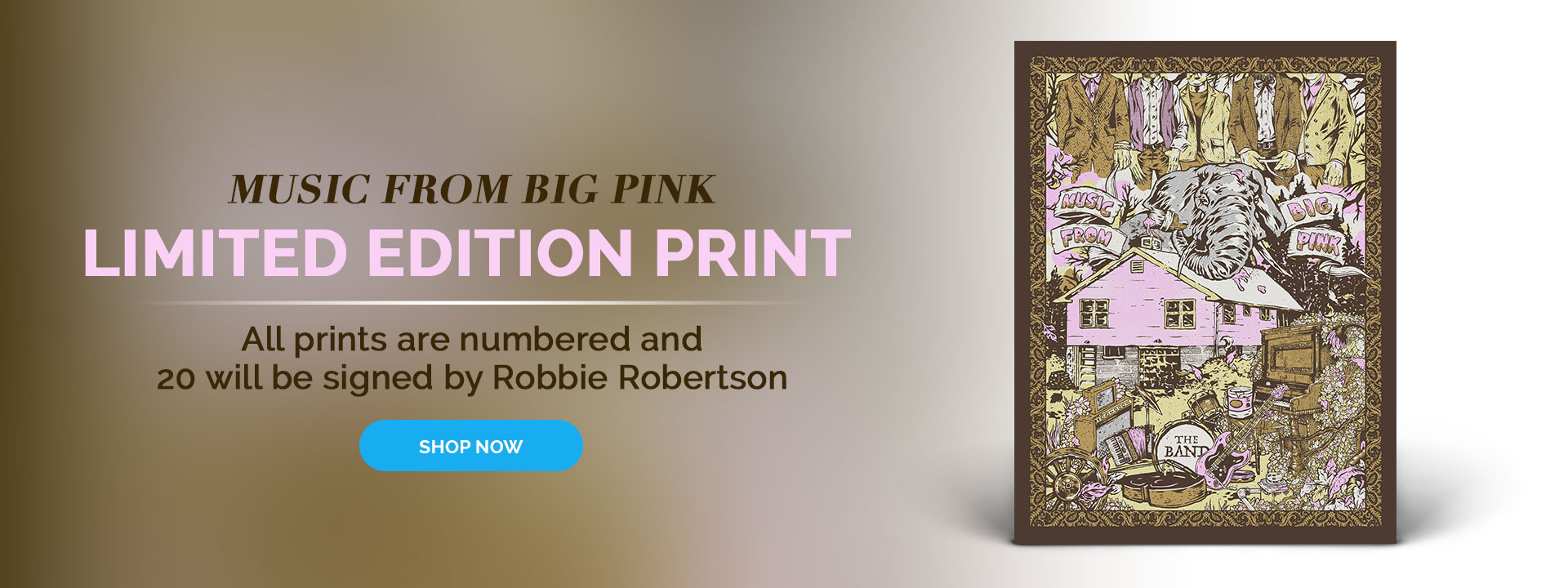 Limited Edition Big Pink Print