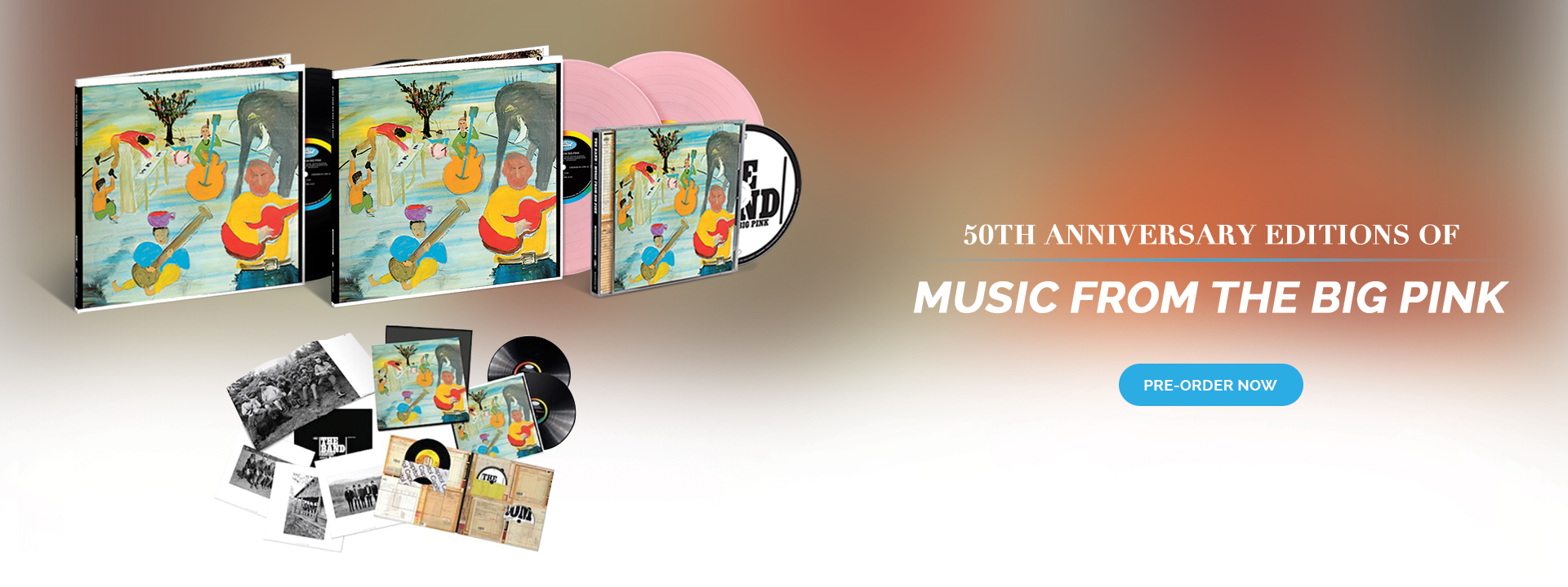 'Music from Big Pink' 50th Anniversary Editions