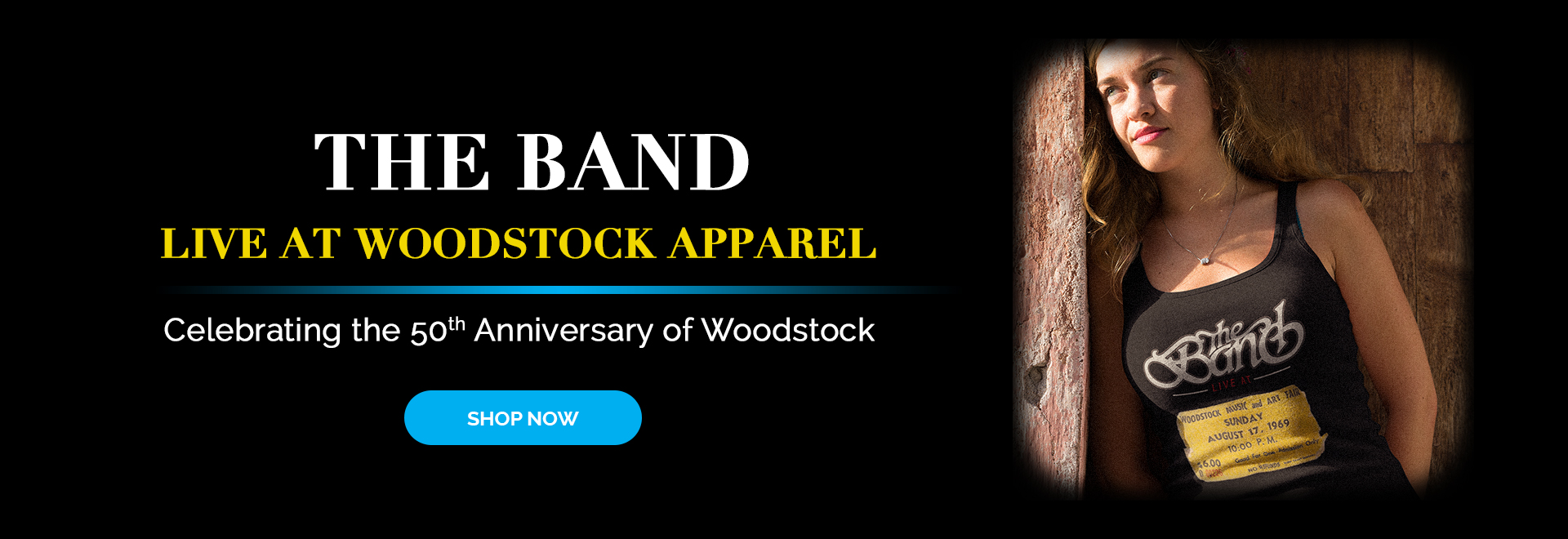 Live at Woodstock Apparel