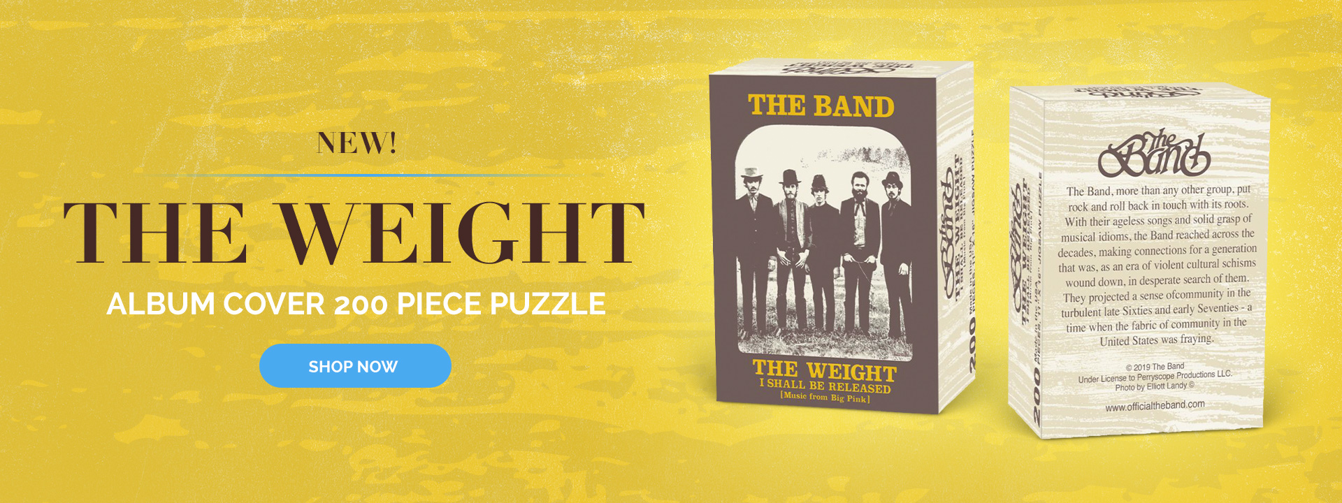 The Weight Album Cover Puzzle