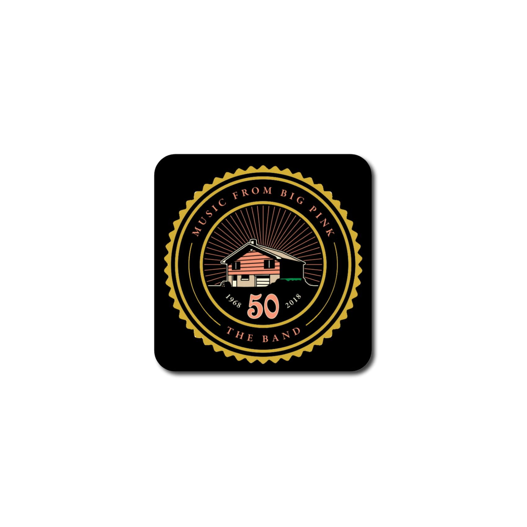 Logo Coaster Set w/Stand