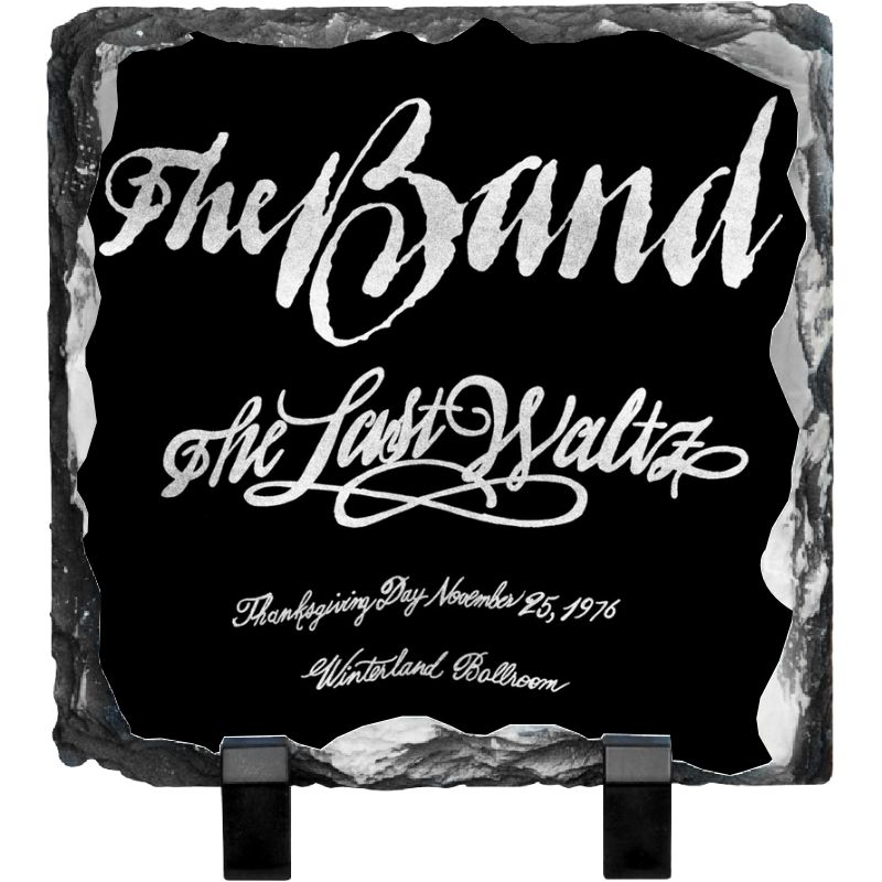 Last Waltz Invitation Photo Slate