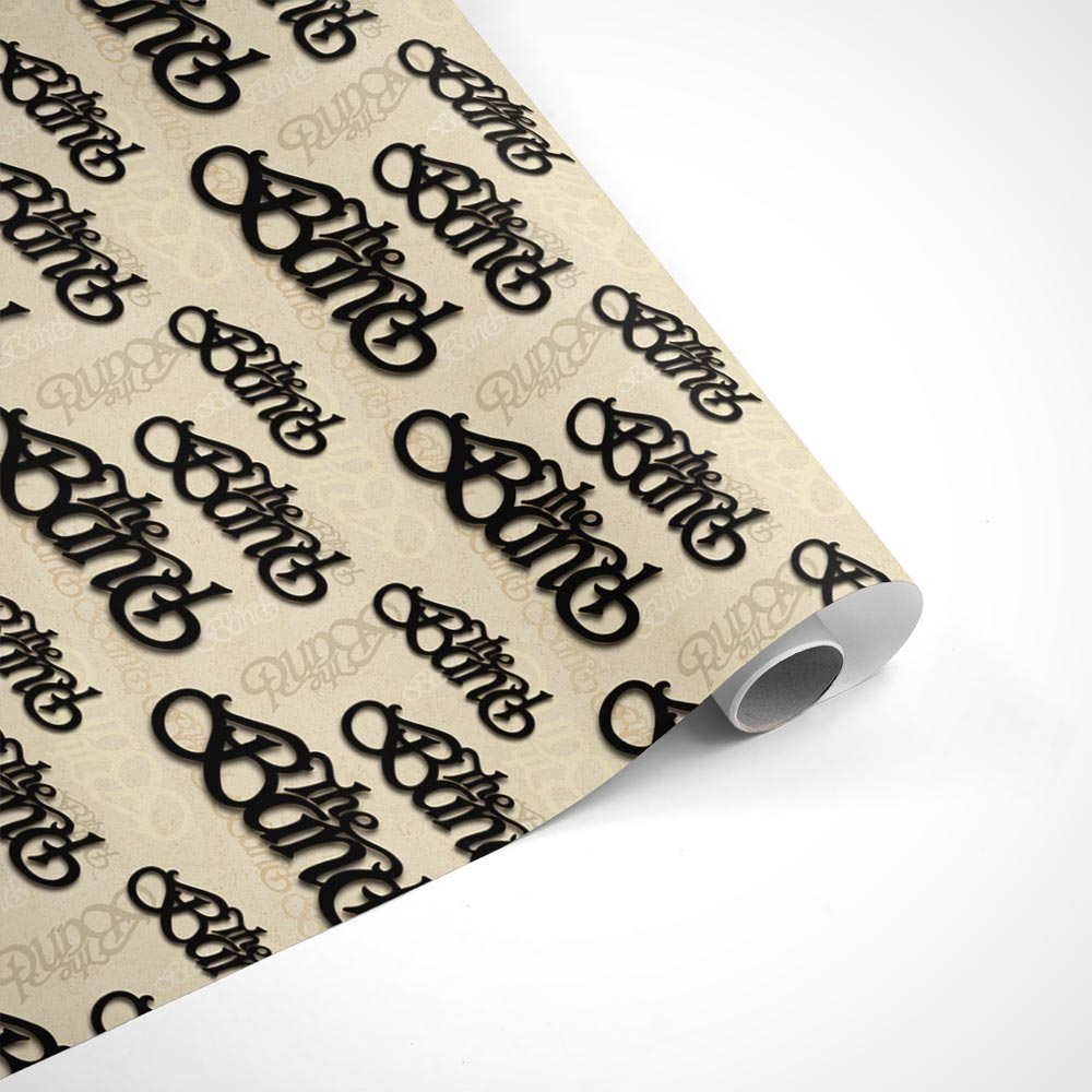 The Band Anthology Logo Wrapping Paper