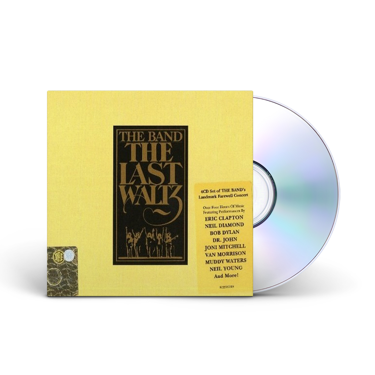 The Band The Last Waltz 4X CD