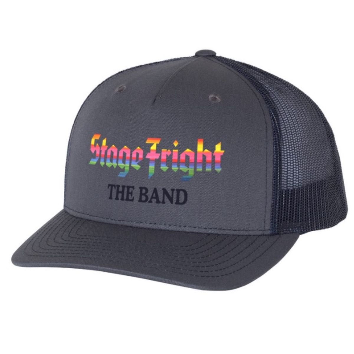 Stage Fright Charcoal Trucker Hat