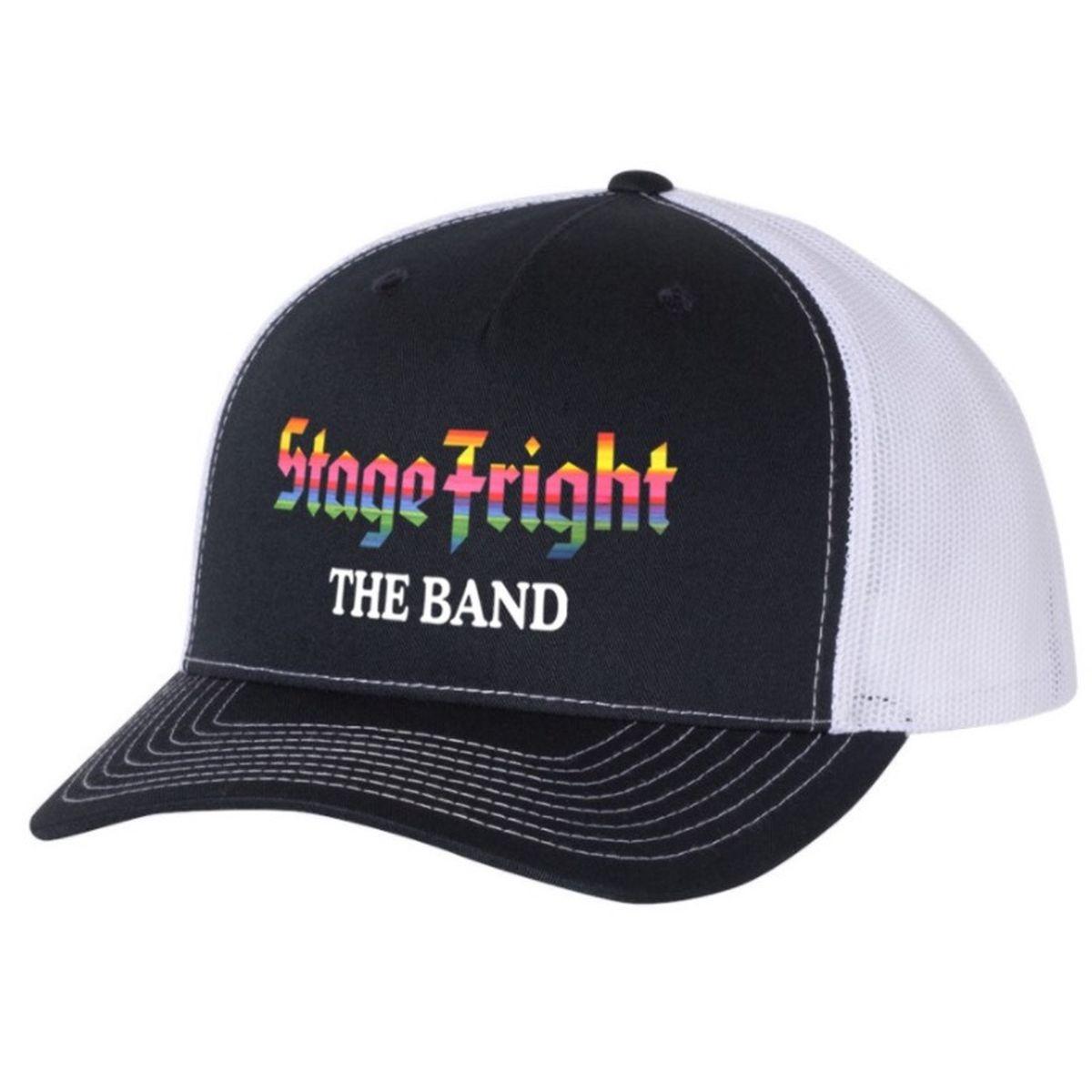 Stage Fright Black Trucker Hat