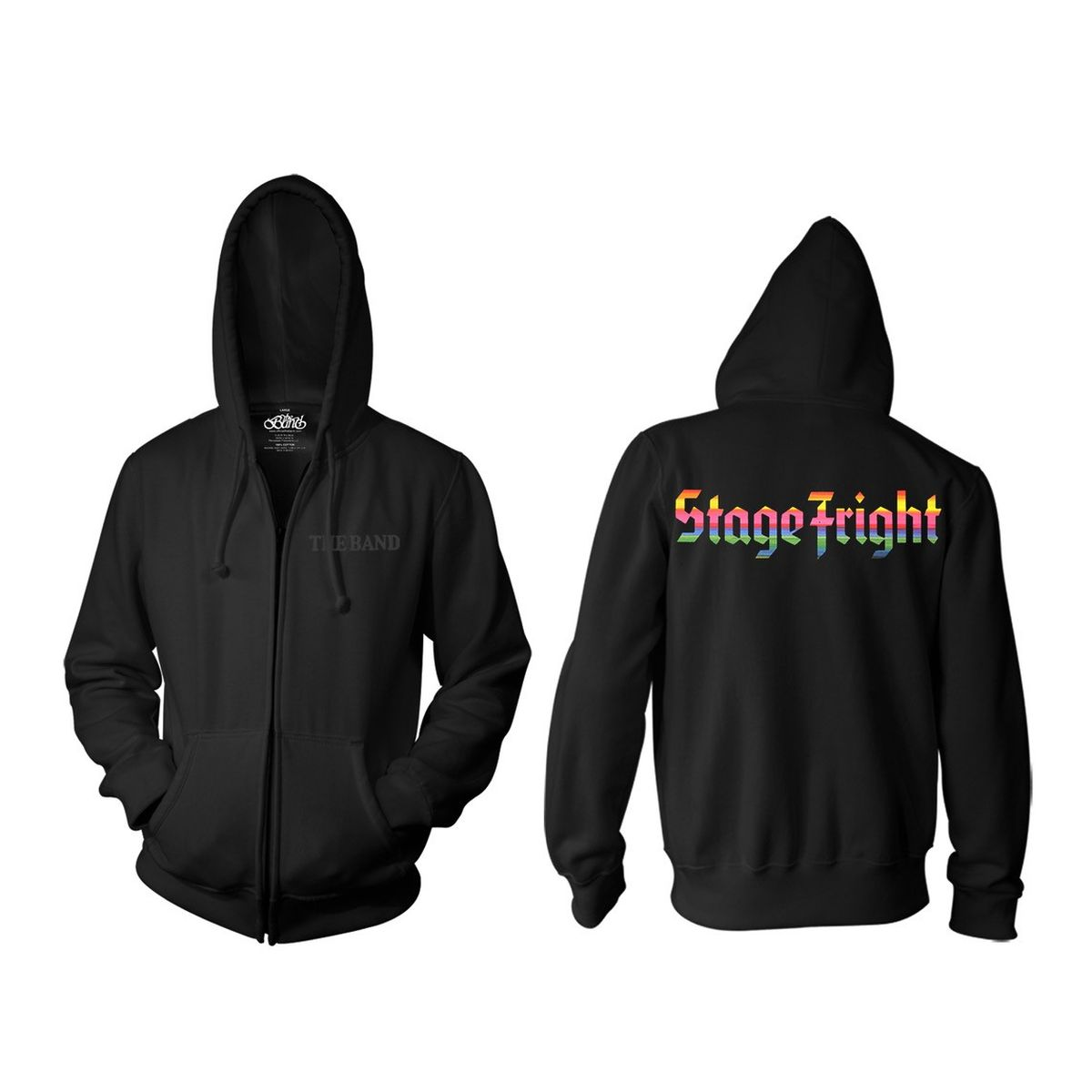 The Band Stage Fright 50th Anniversary Zip Hoodie