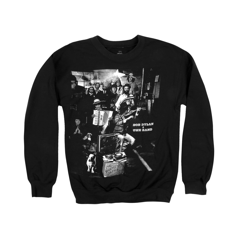 The Band & Bob Dylan Basement Tapes Crewneck
