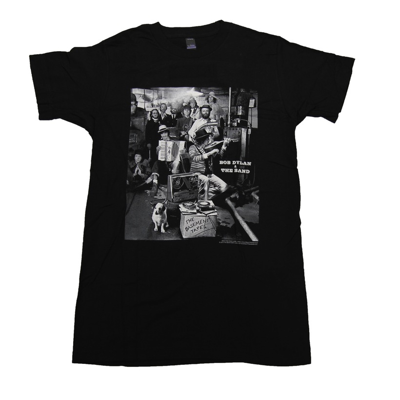 B&W DYLAN BASEMENT TAPES T-SHIRT