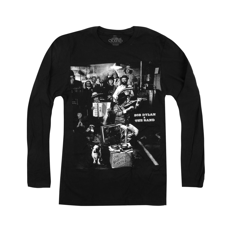 The Band & Bob Dylan Basement Tapes Longsleeve T-Shirt