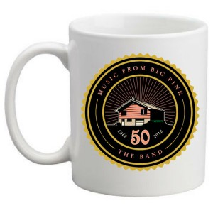Music From Big Pink 50th Anniversary Mug