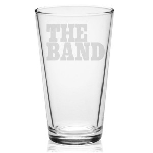 Big Pink Logo Etched Pint Glass