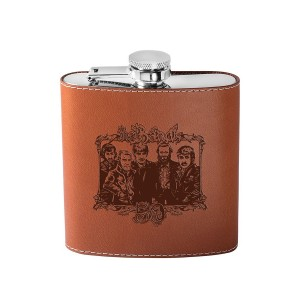 The Band 50th Anniversary Deboss Flask