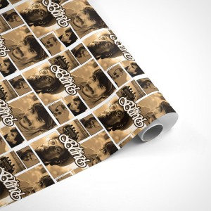 The Band Members Individual Photo Feature Wrapping Paper