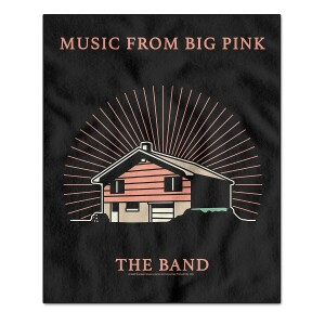 Music From Big Pink Fleece Blanket