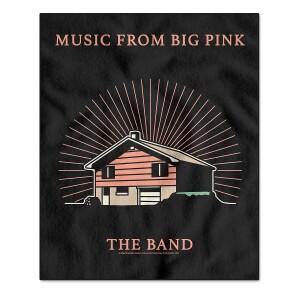 Music From Big Pink Fleece Blanket